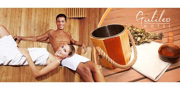 Privátny vstup do sauny pre dvoch - 60 minút