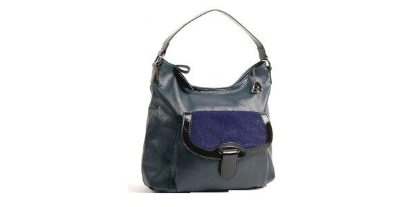 Dámska tmavo modrá kabelka Bulaggi