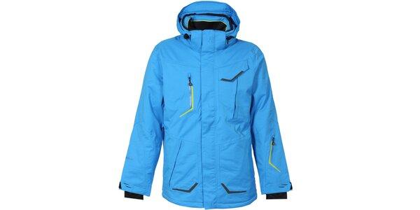 Pánska modrá lyžiarska bunda Bergson