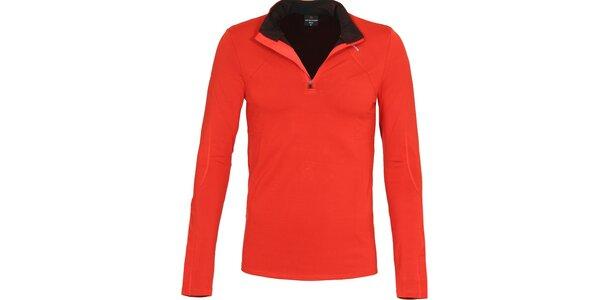 Pánske funkčné červené tričko Bergson