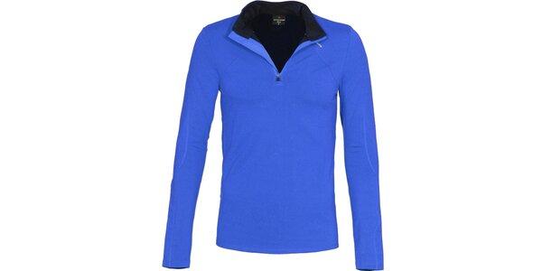 Pánske funkčné modré tričko Bergson