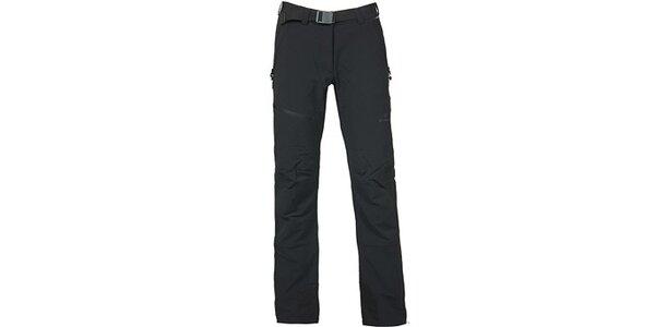 Dámske čierne trekové nohavice Bergson