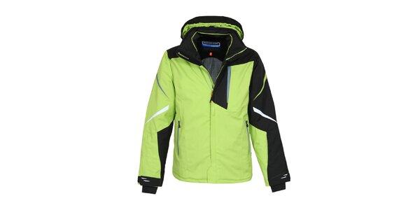 Pánska zelená zimná bunda Bergson