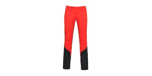 Dámske červené športové nohavice Bergson