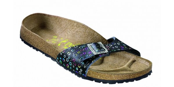 Dámske ortopedické papuče Papillio s bodkovaným vzorom