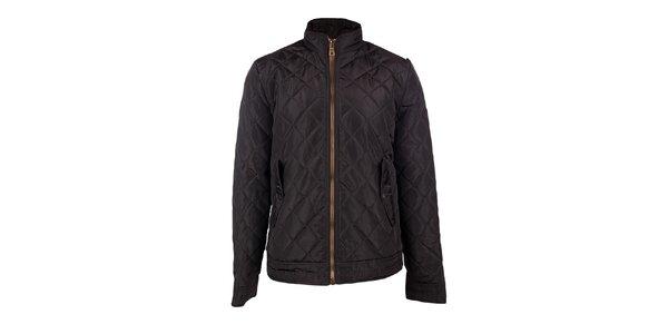 Pánsky hnedý prešívaný kabát GAS