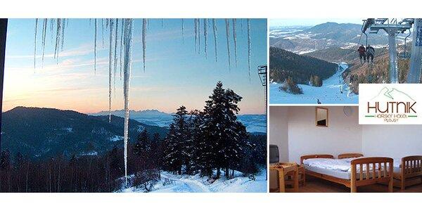 Pobyt v horskom hoteli Hutník v Relax Center Plejsy