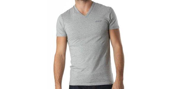 Pánske šedé tričko Kenzo