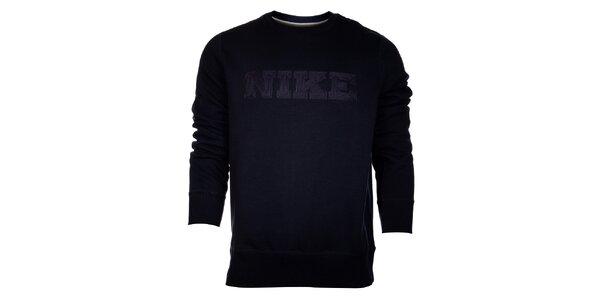 Pánska tmavo modrá mikina Nike