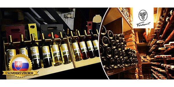 Víno s rodinnou tradíciou a vínne želé