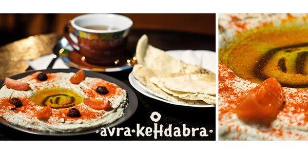 Arabské menu HOMMOS TAHINY s ľadovým tuarégom a koláčikom