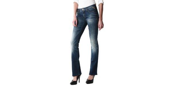 Dámske modré bootcut džínsy Replay