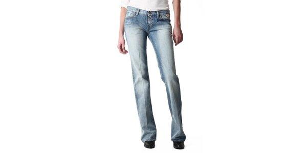 Dámske bledomodré džínsy Replay