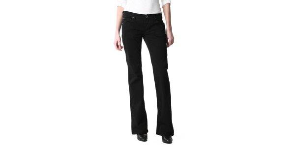Dámske čierne džínsy Replay