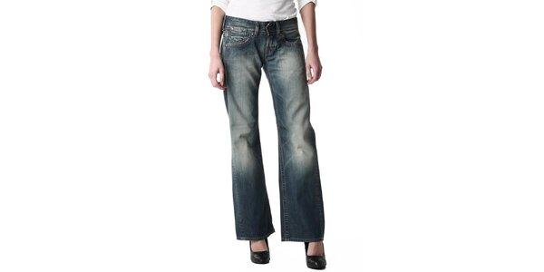 Dámske voľné džínsy s šisovaním Replay