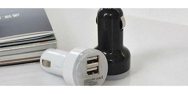 USB auto nabíjačka s 2 USB výstupmi