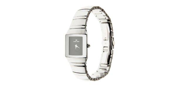 Dámske náramkové hodinky Danish Design s čiernym ciferníkom