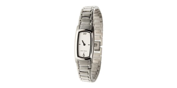 Dámske strieborné titanové hodinky Danish Design