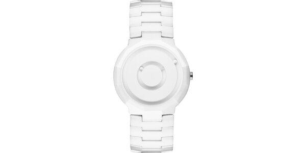 Biele keramické hodinky Danish Design