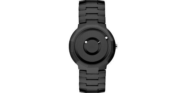 Čierne keramické hodinky Danish Design