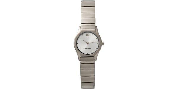 Dámske analógové titanové hodinky Danish Design