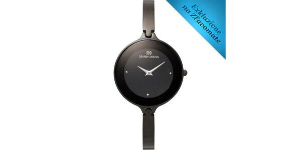 Dámske oceľové hodinky Danish Design s tenkým remienkom