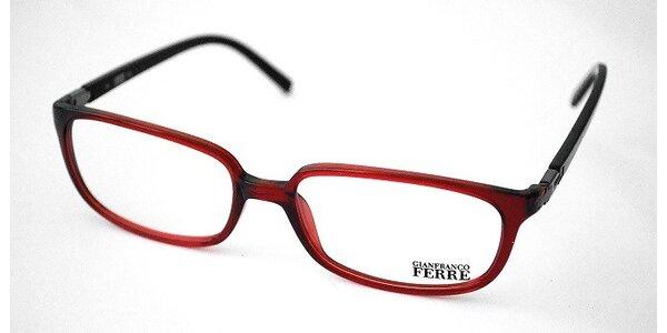 Červeno-čierne plastové rámy - GF18703
