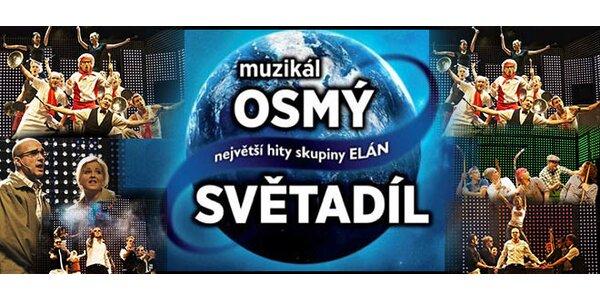 Vstupenka na prvý česko-slovenský muzikál Ôsmy svetadiel