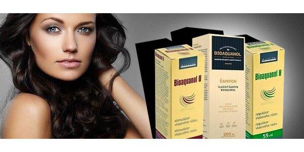 Rada BIOAQUANOL - pre problémy s vypadávaním vlasov a tvorbou lupín