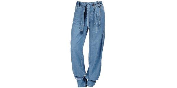 Dámske svetlo modré harémové džínsy Ruby Blue