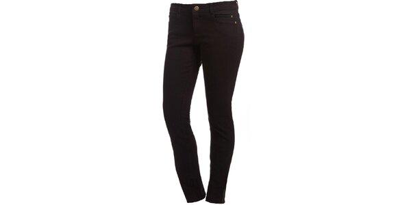 Dámske čierne skinny džínsy Ruby London
