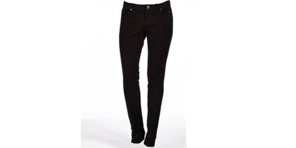 Dámske straight-leg čierne džínsy Ruby London