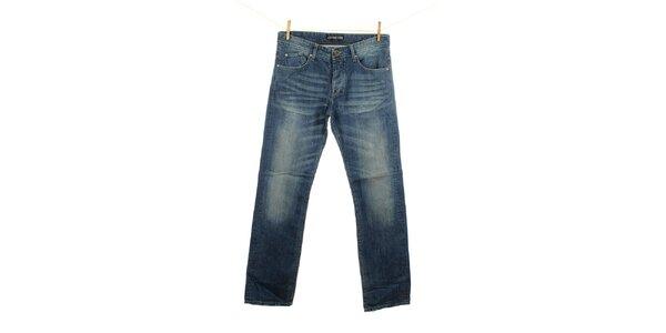 Pánske svetlo modré džínsy Fuga