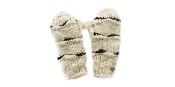 Dámske krémové rukavice Fuga