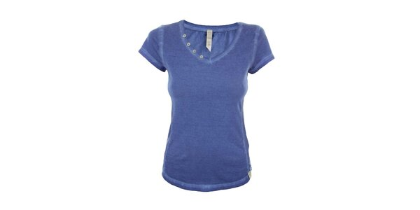 Dámske modré tričko s krátkym rukávom Fuga