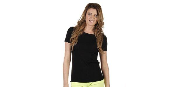 Dámske čierne tričko Ada Gatti