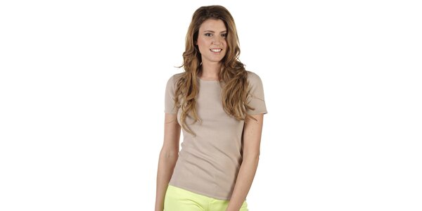 Dámske béžové tričko Ada Gatti