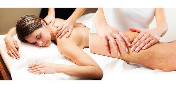Manuálna lymfodrenážna masáž podľa výberu