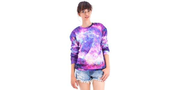 Dámsky fialový svetrík Mr. GUGU & Ms. GO