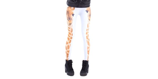 Dámske legíny so žirafou Mr. GUGU & Ms. GO