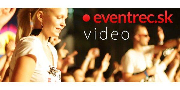 Video - natáčanie udalostí (svadby, párty, stužkové)