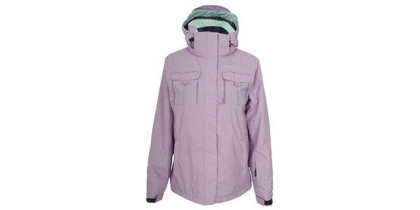 Dámska svetlo fialová lyžiarska bunda Trespass