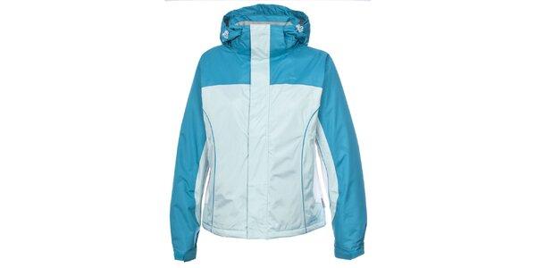 Dámska modrá vodeodolná bunda Trespass