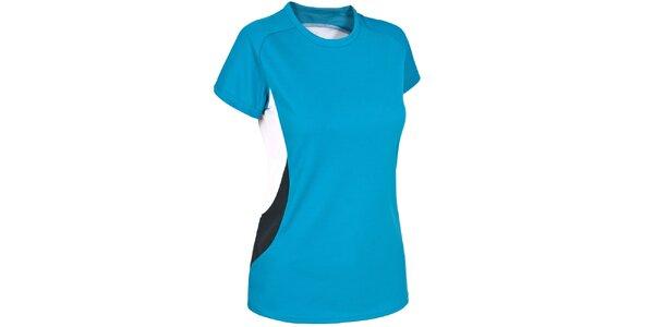 Dámske tyrkysové rýchloschnúce tričko Trespass