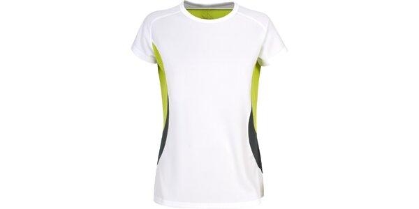 Dámske biele rýchloschnúce tričko Trespass