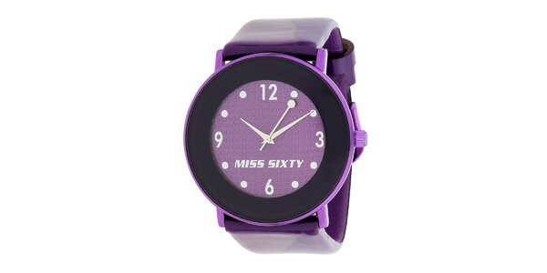 Dámske fialové hodinky Miss Sixty