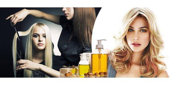 Starostlivosť o vlasy s rakytníkovou alebo arganovou kúrou