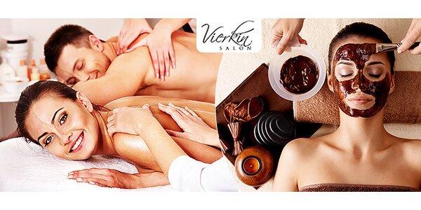 Relaxačné masáže s čokoládou a zábalom