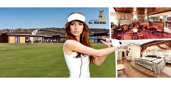 Luxusný wellness pobyt a golf v Skalici