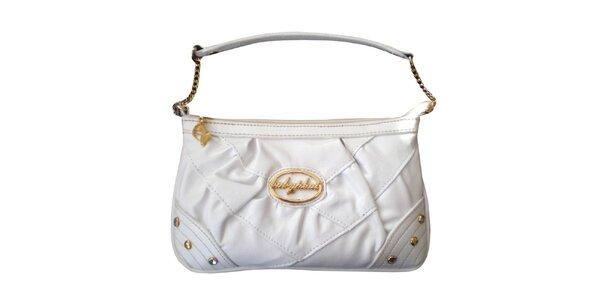 Dámska biela kabelka Baby Phat s kamienkami